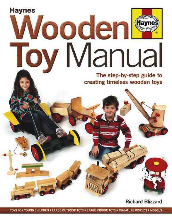 Wooden Toy Manual By Blizzard, Richard